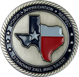 PGR of Texas Challenge Coin